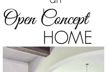 open space decorating