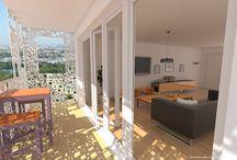 balcons et terrasses / Présentation des balcons et des terrasses conçus par ALUR immobilier