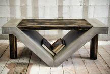 Mesas con hierros
