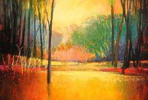 landschappen / schilderen