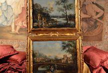 LANDSCAPE PAINTING / Painting - Landscape - Tableaux paysages - Pittura di paesaggio - natura
