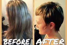 Colour and cuts / Colours, Cuts and styles I have done