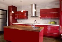 2015 June: Dual-wood & Color cabinets