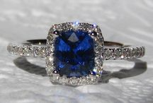 Sapphires / Pins of sapphire rings