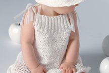 Vestiti ai ferri bambina