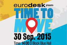 Time to Move Event / Time to Move is organised by Eurodesk with the support of the Erasmus+ Programme. It is dedicated to inform young people about international mobility opportunities.