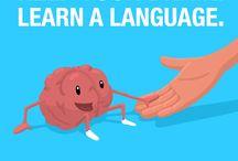 Language training / Community built language learning website