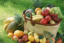 Frutas e legumes da estação