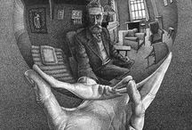 M.C. Escher / by DIANA METREY