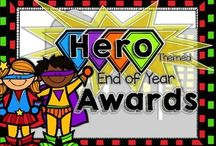 End of Year Activities / end of year activities for those final days of school and to help celebrate student achievements both academic and social.  End of year memory books, flip books, awards, certificates.
