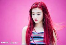 Kpop Girlgroups Red Hair