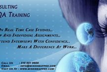 MindsMapped / MindsMapped offers online IT training services for aspiring Business Analyst's,Quality Analyst's and .Net professionals. Our training's will prepare you to attend job interviews confidently and pass certification's exams. We provide placement assistance and ensure you land in your dream job.  If you are on a F1, H1-B visa or on OP/CPT, get your resume reviewed and kick start your career. Call us: 515 494 1281 Email: info@mindsmapped.com www.mindsmapped.com