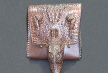 Авторские сумки из кожи крокодила / Авторские сумки ручной работы из натуральной кожи крокодила от московского мастера С.Ваграмова
