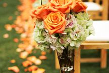 wedding flowers / centerpieces, bouquets,...