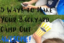 Summer Fun for Kids / Need ideas to keep the kids having fun in the summer? Using these ideas, summertime fun is easy.