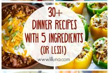 5 ingredient meals
