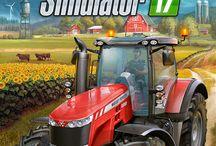 Farming simulator. / Farming simulator este un joc de simulare al agriculturii, silviculturii şi creşterii animalelor.