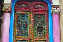 Balconi e porte