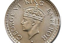British India - George VI / collection of coins of George VI of British India