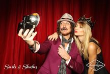 Snaptique Photo Booth / A vintage photo booth based out of Toronto! We designed our booth to look like a large format camera and we make our own moustaches and lips.