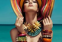 Produção moda praia