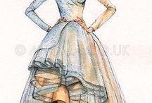 gorgeous sketches ! / fashion sketches