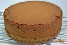 bizcocho chocolate tarta fantasía, 22 cm