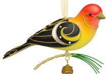 Hallmark Bird Ornaments