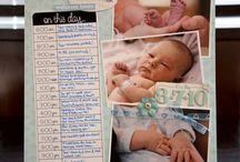 Scrapbooking babies