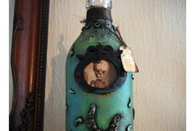 Message On A Bottle / Altered Bottle Art