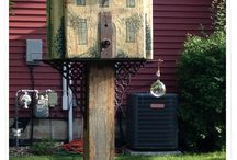 Birdhouses & Feeders / I do not claim ownership of the images that I post on this site. If I do own one, I will make note of it.. / by Nancy Poliseno Buck