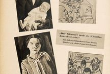 """Entartete Kunst / Photos from one of the most famous Nazi exhibition denouncing what they called """"degenerated art"""" that included all non classical forms of contemporary art. See with the German Art Day in Munich board"""