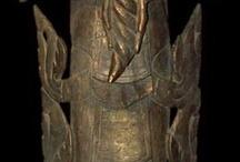 Burmese Nats and Deva Statues