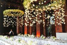 Addobbi lampadari sala interna matrimonio