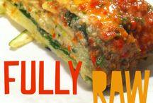 █ Food •  FULLY RAW