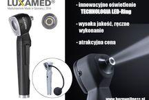 Urządzenia diagnostyczne / Przedstawiamy urządzenia diagnostyczne wykorzystywane z powodzeniem przez lekarzy rodzinnych jak i specjalistów takich jak laryngolodzy, dermatolodzy itd.
