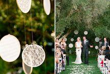 Inspiración con bastidores / Decora tu boda con bastidores