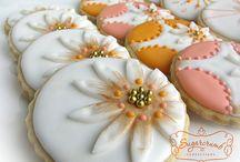 Galletas cookies / pintadas y decoradas / by Piedad Rodríguez Torres