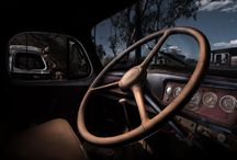 Rustic car fine art