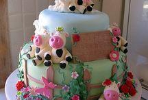 Cow /farm cake