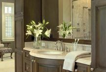 Glen Alspaugh Bathrooms / Bathrooms we've designed and created for our valued clients!