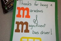 Bus Driver gifts and tags / by Yesenia Maria Delafuente