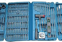 Drill Bit Set 216 Pcs Screwdriver Large Case Sds Driver Hss Accessory Masonry