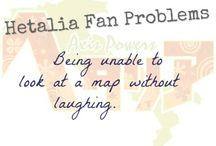 Hetalia Fan Problems XD
