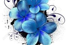 Tattoo Flower Hawaiian