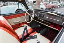 Cassic VW Interiors / Because true beauty lies on the inside. A selection of our favourite classic VW interiors