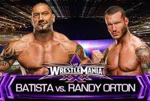 WWE Randy Orton VS Batista