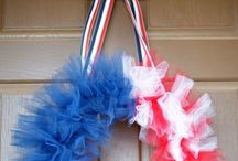 american flag-inspired ideas-crafts, cake a and more