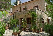 Greek Stone House