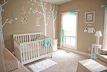 Neutral nursery and kids room